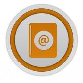 E-cirkulär ikonen på vit bakgrund — Stockfoto