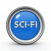 SciFi circular icon on white background — Stockfoto