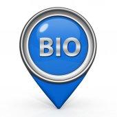 Bio muisaanwijzer op witte achtergrond — Stockfoto