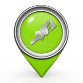 Pen pointer icon on white background — Stockfoto