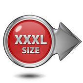 XXXL size circular icon on white background — Stock Photo
