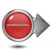 International circular icon on white background — Stock Photo