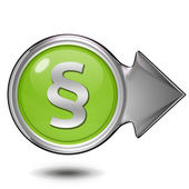 Law circular icon on white background — ストック写真