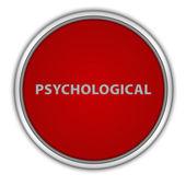 Psychological circular icon on white background — Stock Photo