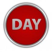 Day circular icon on white background — Zdjęcie stockowe