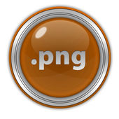 .png circular icon on white background — Stock Photo