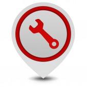 Tools pointer icon on white background — Stok fotoğraf