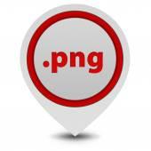 .png pointer icon on white background — Stock Photo