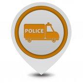 Police pointer icon on white background — Stockfoto