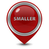 Smaller pointer icon on white background — Стоковое фото
