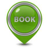 Book pointer icon on white background — Foto de Stock
