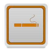 Ícone de quadrados de cigarro no fundo branco — Fotografia Stock
