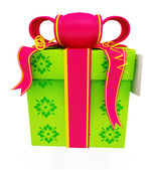 Illustration of giftbox — Stock Photo