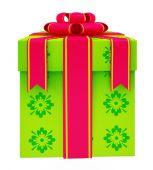 Illustration Of Gift box — Stock Photo