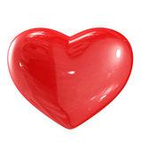 Illustrazione di cuore rosso — Foto Stock
