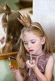 Little Princess tints lips — Stock Photo