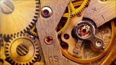 Working Clockwork — Stock Video
