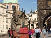 Czech Republic, Prague, Charles Bridge (3) — Stock Photo