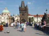 Czech Republic, Prague, Charles Bridge (1) — Stock Photo