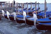 Gôndolas venezianas — Fotografia Stock