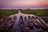 Fisherman Boats — Stock Photo