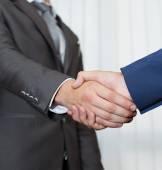 Business partners handshake — Stock Photo