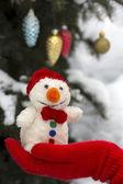 Outdoor winter composition — Stockfoto