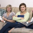 Reading family — Stock Photo #61290479