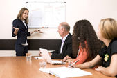 Corporate training — Stock Photo