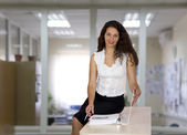 Nice female business consultant — Stock Photo
