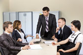 Dissatisfied manager — Stock Photo