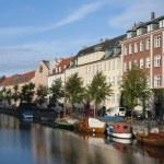 Urban landscape of Copenhagen city — Stock Photo #74218363
