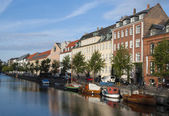 Urban landscape of Copenhagen city — Stock Photo