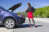 Fantastic sexual car mechanic — Stock Photo