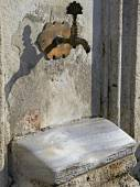 Ancient plumbing in Istanbul city — Stock Photo