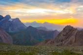 Eye catching highland dusk — Stock Photo