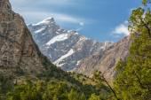 Alpine landscape high altitude — Stock Photo