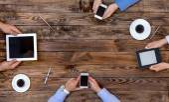 High-Tech Human Generation Lifestyle — Stockfoto