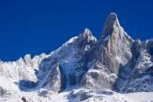 "Peack ""aiguille du dru"" europen Alpy — Zdjęcie stockowe"