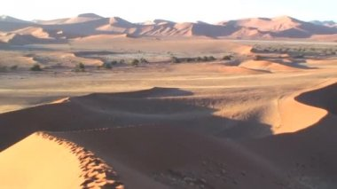 Sand Dunes in Namibia — Stock Video