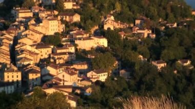 The Bastide town — Stock Video