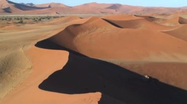 Sand Dunes Namib Desert — Stock Video