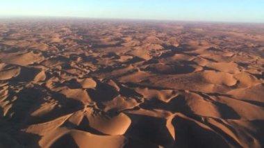 Aerial Desert View — Stock Video