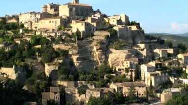The Bastide town in France — Stock Video