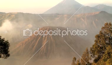 Mount Bromo volcano — Stock Video