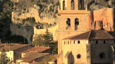 Albarracin Teruel province — Stock Video