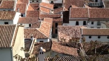 Roofs of the Pueblo Bianco — Stockvideo