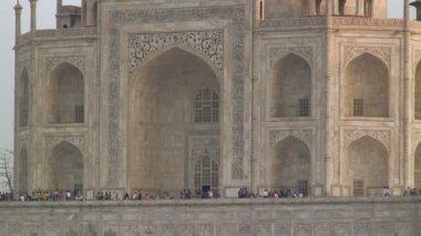 Taj Mahal Mausoleum — Stock Video