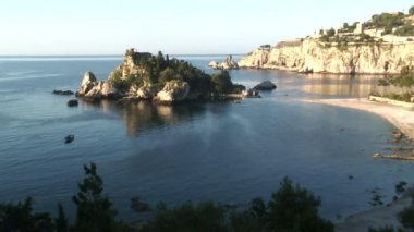 Island in Sicily, Italy — Stock Video