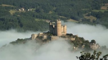 Castle in France — Stock Video